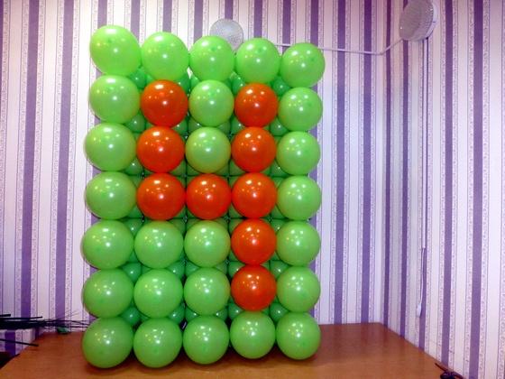 Панно из воздушных шаров bms