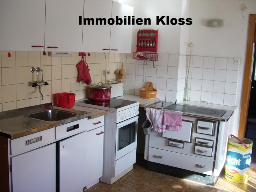 Küche mit Kochmaschine