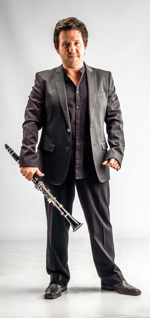 Miguel Domínguez / clarinete y saxo soprano / foto : Jaime Pérez