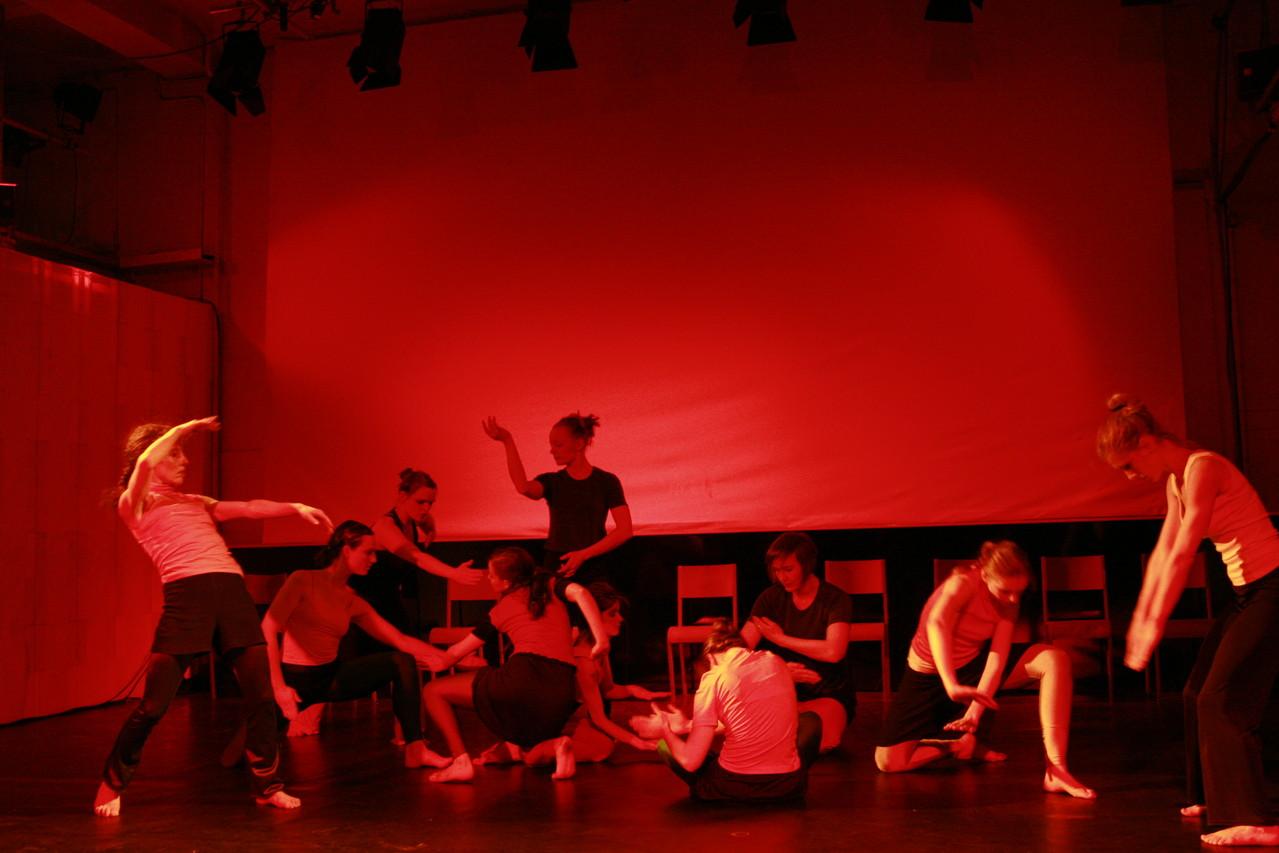 Objectionen, Tanztheater, 100° Festival Berlin, A. Weiske
