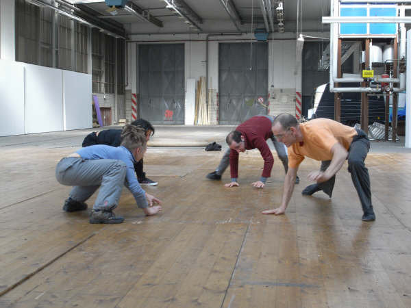 Identidad - Performance-Proben, Uferhallen/Wedding, Berlin