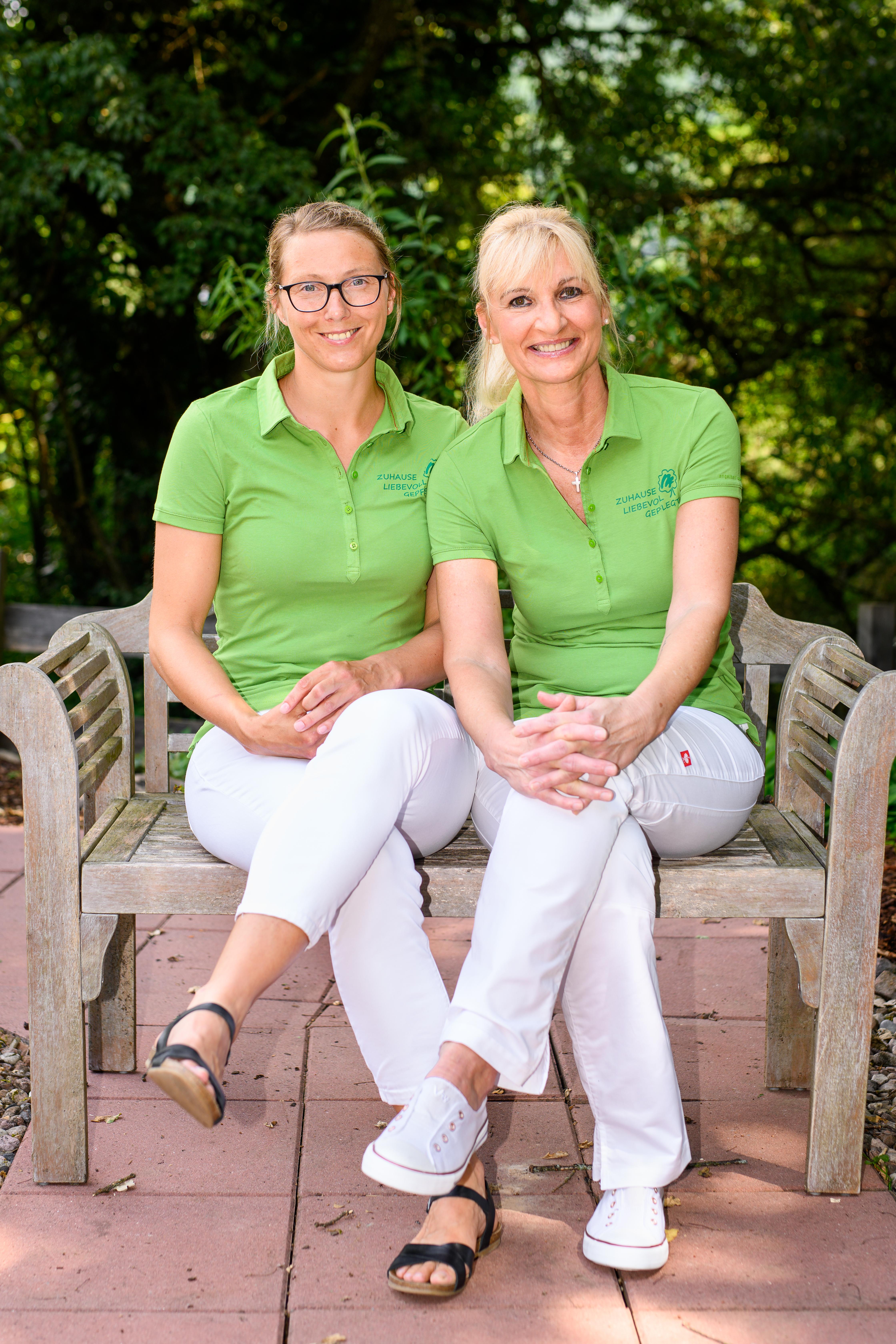 Marliese Polixenidis und Stephanie Sehn