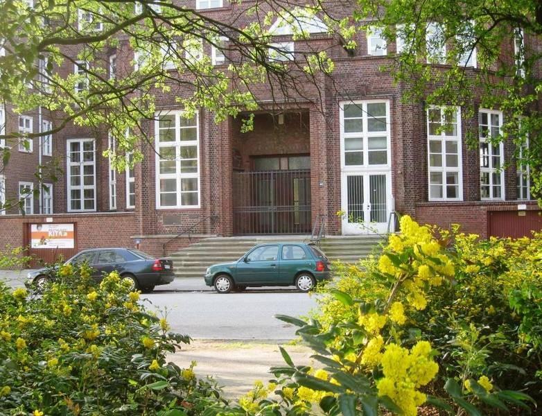 Pestalozzi Kita Hamburg Mitte Außenansicht