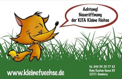 Kindertagesstätte Kleine Füchse Hamburg Horn