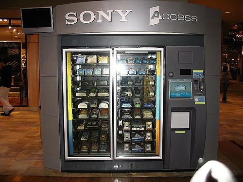 Un surtido de Sony.