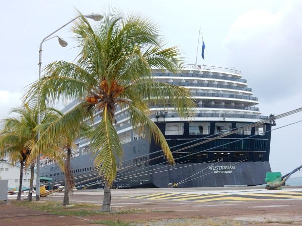 Ein weiterer toller Landgang geht zu Ende und ich gehe wieder an Bord der MS Westerdam.