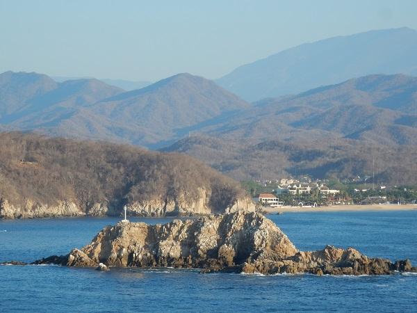 Morgenstimmung an der mexikanischen Pazifikküste