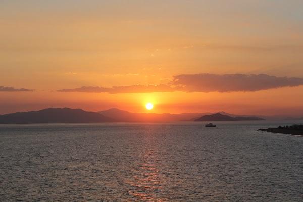 Sonnenuntergang über Costa Rica
