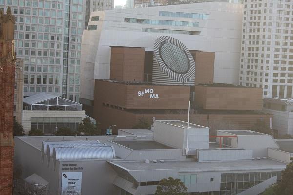 Das MoMa, Mueum of Modern Art, vom Tessniner Architekten Mario Botta