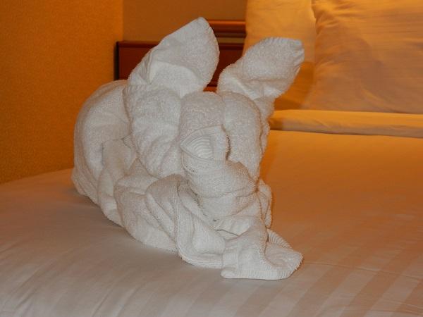 Guet Nacht mit Rabbit, meinem Hasen
