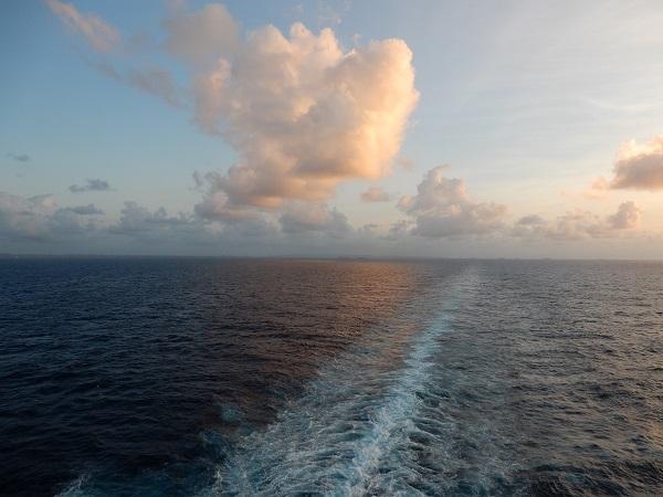 Ein ereignisreicher Tag an Bord der MS Westerdam geht zu Ende