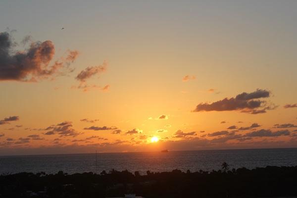 Sonnenaufgang über Florida
