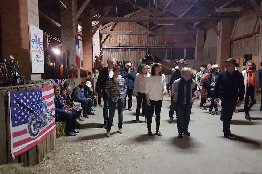 Soirée danse country Vauclaire
