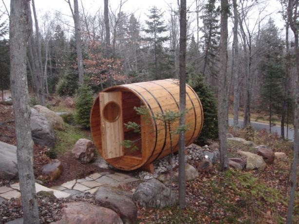 paraíso portátil, nadie espera encontrar algo así en medio de un bosque.