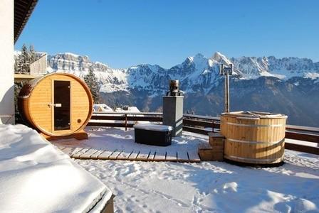al lado de una sauna suele ser donde más partido se le saca
