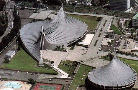 Комплекс олимпийских сооружений в Токио
