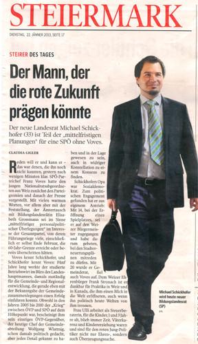 Landesrat Mag. Michael Schickhofer