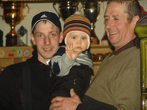 drei Generationen Ellmaier: Martin-Felix-Toni
