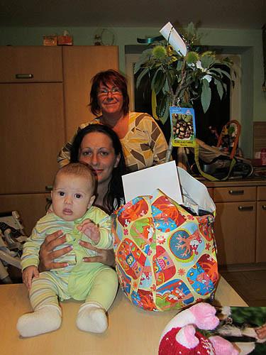 Familie Riegler mit Sonja Maderbacher