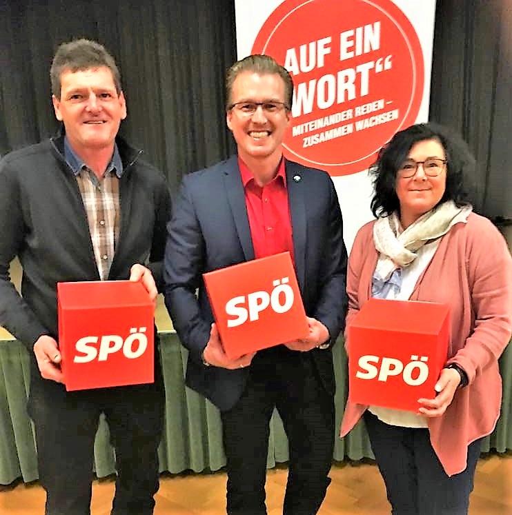 GR Georg Goldgruber, LGF Oliver Wieser, GK Sonja Maderbacher