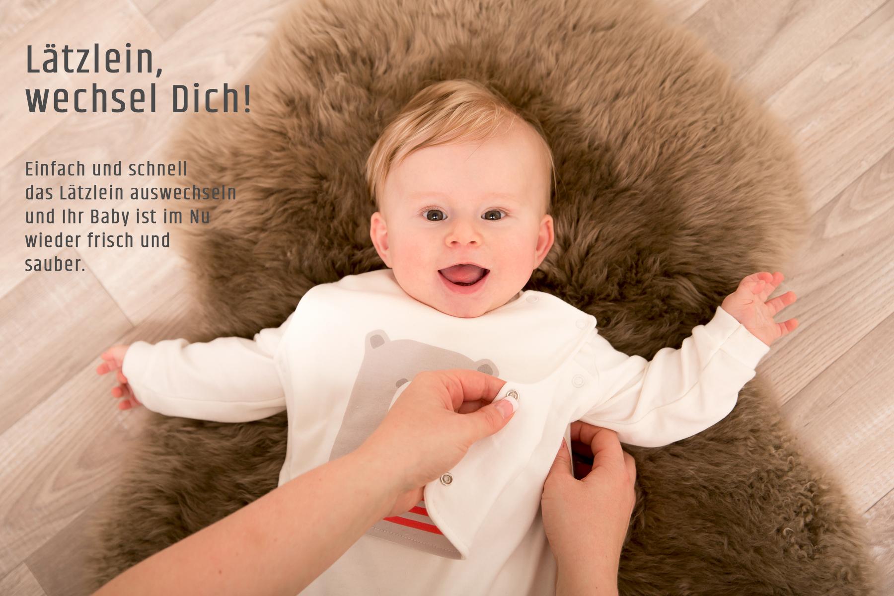 der wandelbare Baby-Strampler von Pimima