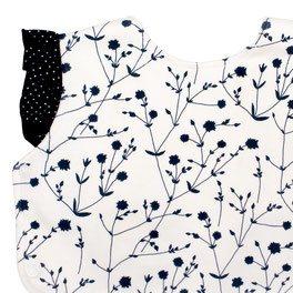 Pimima Baby Strampler mit Blütenzauber Lätzchen
