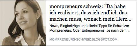 Interview mit Mompreneur Schweiz Mompreneurs