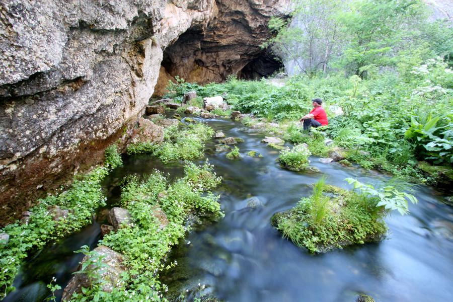 Kapova Cave: Entrance