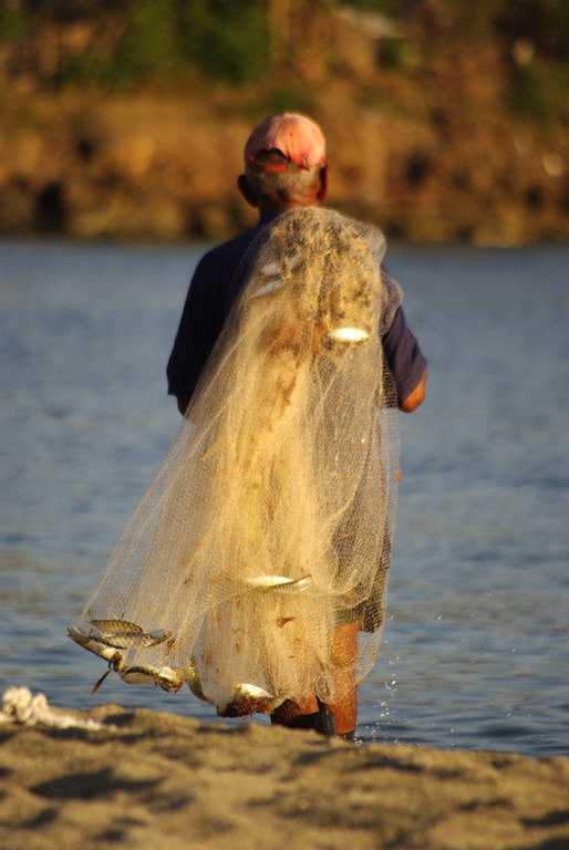 pêcheur à Playa el Coral Ph.Marjorie