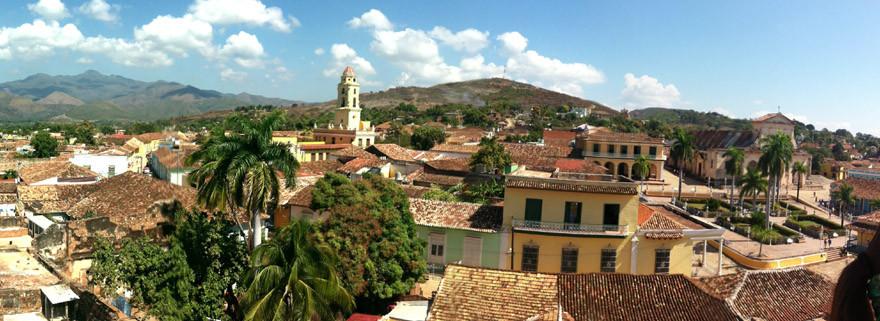 vue panoramique de Trinidad