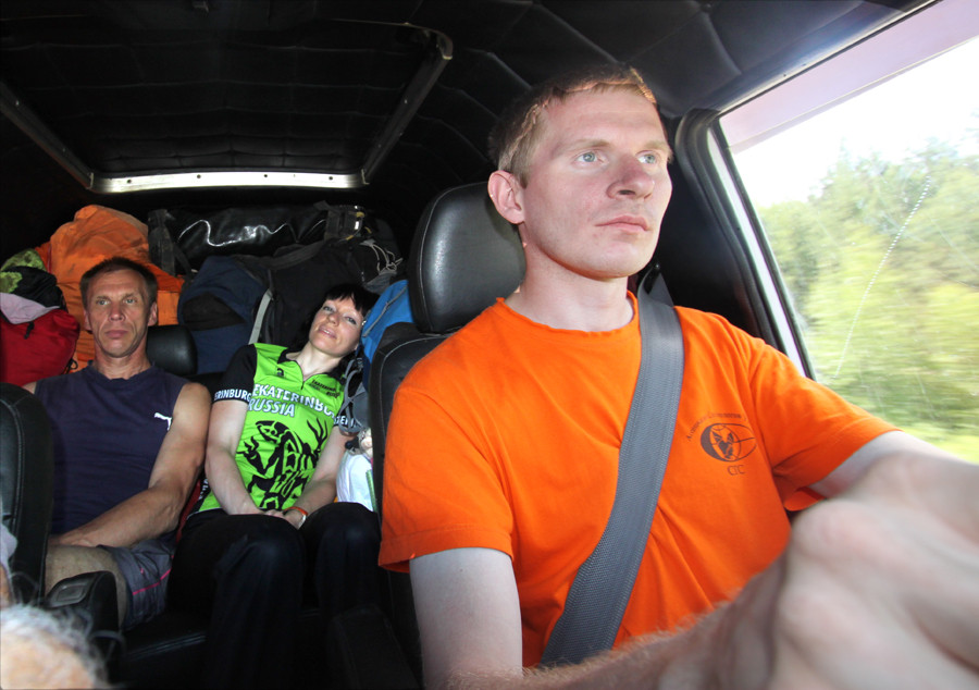 Ivanishev Aleksander: Driver and Projerina Olga and Tzhurihin Evgeny