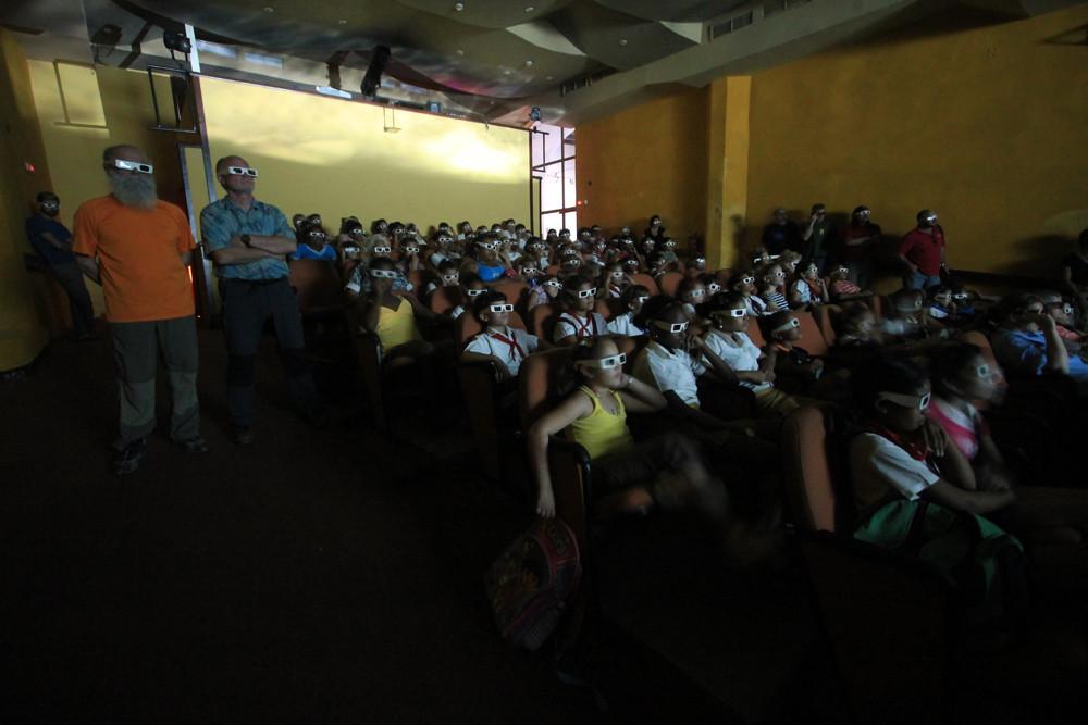 proiezione a L'Avana