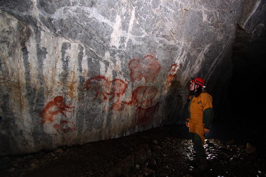 Kapova Cave: painting