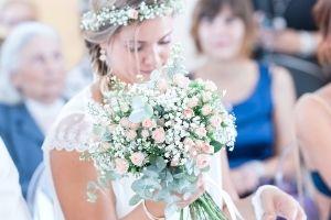 bouquet de mariée en fleurs fraiches  fleurs du var et de saison