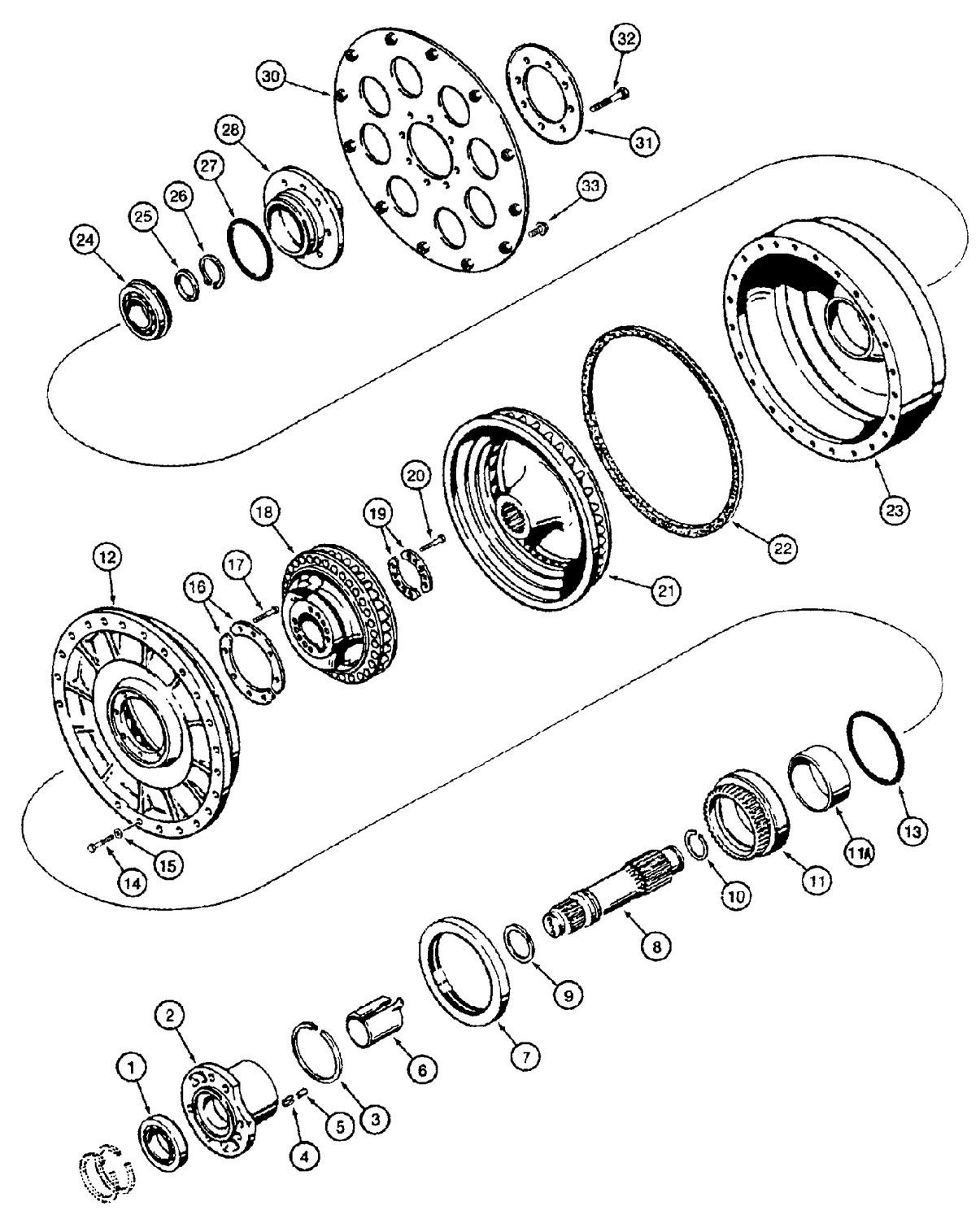 CASE 1150E PARTS - LES MACHINERIES ST-AMANT INC