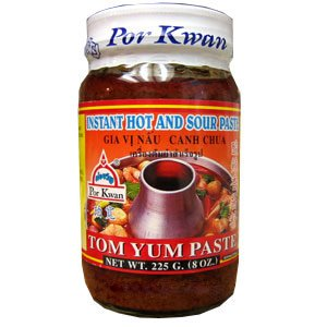 Pasta tailandesa Tom Yum