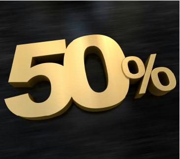 50 % Bonus Check Match
