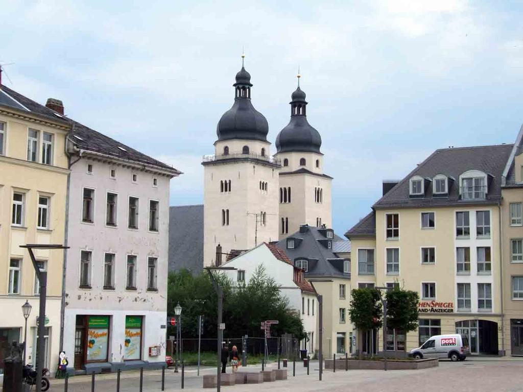 Plauen - Markt und Johanniskirche