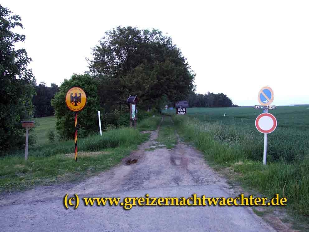 Auch wieder offen - die alte Verbindung von Neualbenreuth (Oberpfalz) nach Eger/Cheb.