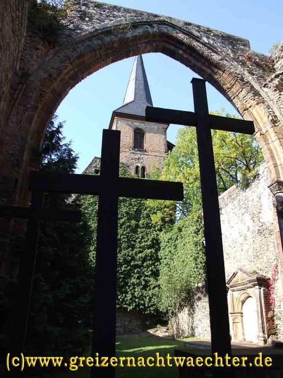 Weida - Ruine der Widenkirche