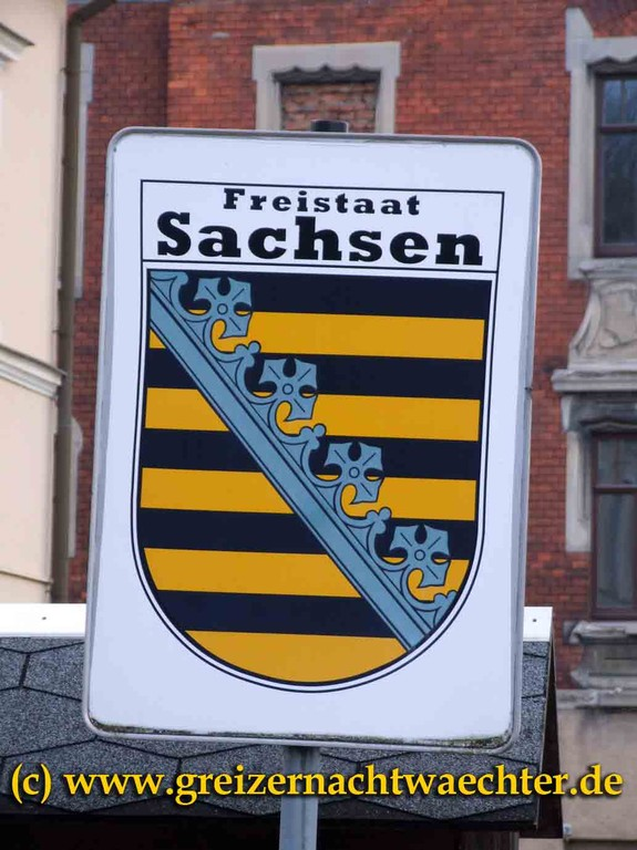 Hoheitszeichen Sachsen