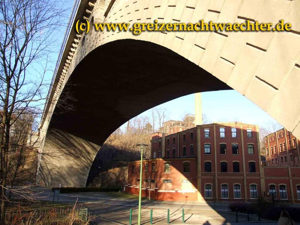 Plauen - das Syratalviadukt war einstmals die größte Steinbogenbrücke der Welt