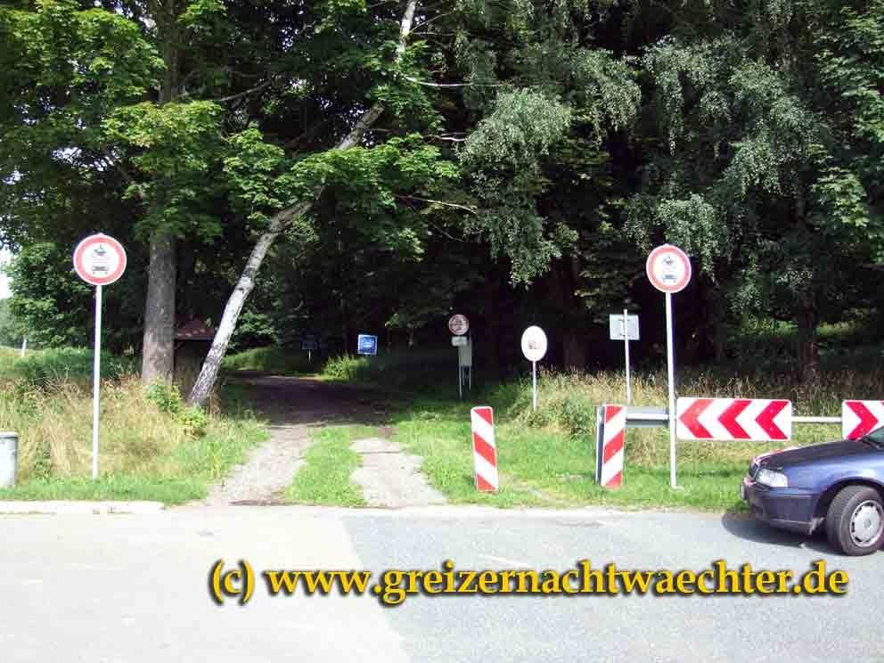 Die alte Straße von Rehau nach Asch/Aš.