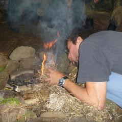 Feuer machen ohne Hilfmittel 1