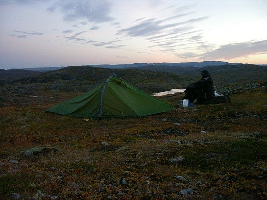 Wildniscamp Hardangervidda
