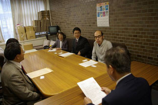 鳥取市選管への申し入れ
