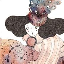 violaine costa illustration cirque dessin art artiste