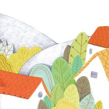 violaine costa art artiste illustration jeunesse albun pere fouettard
