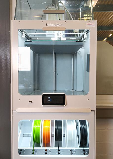 Frontansicht 3D-Drucker Ultimaker
