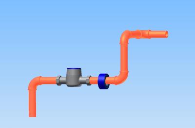 Wasservitalisierungsring für Rohrleitungen